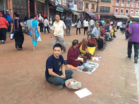 ăn xin ở nepal